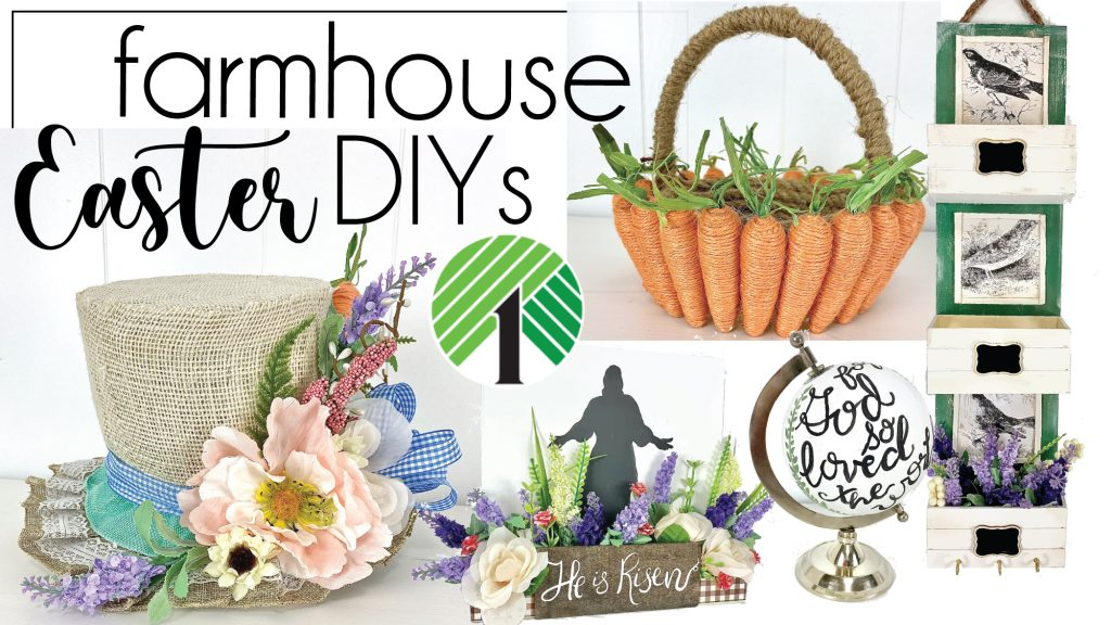 Farmhouse Easter DIY projects