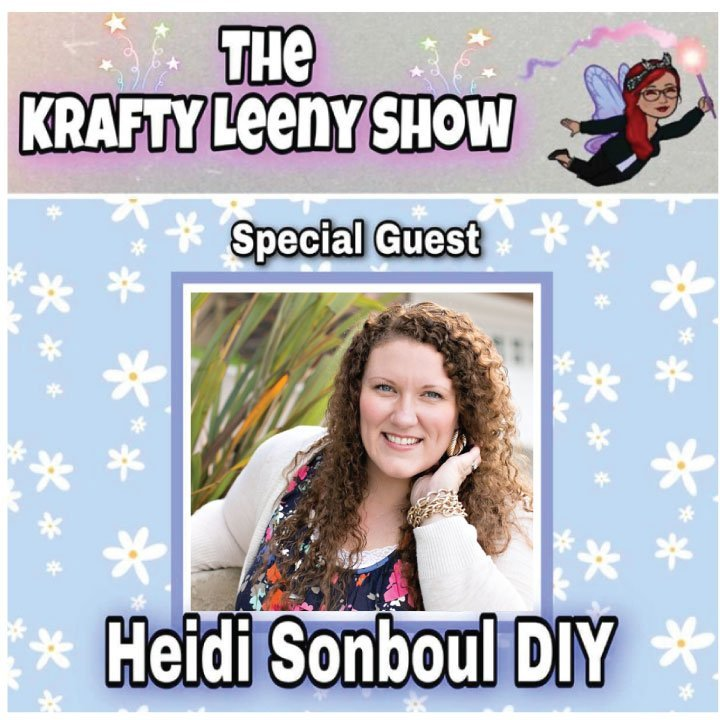 Heidi sonboul on Krafty Leeny show