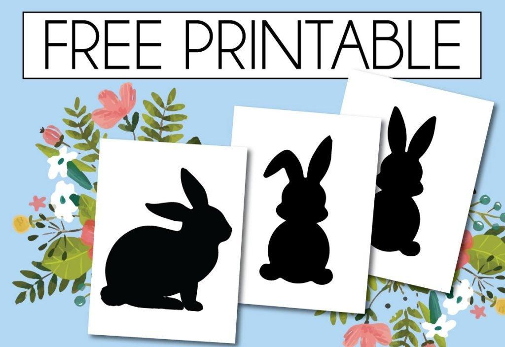 Free Printable Spring Bunnies
