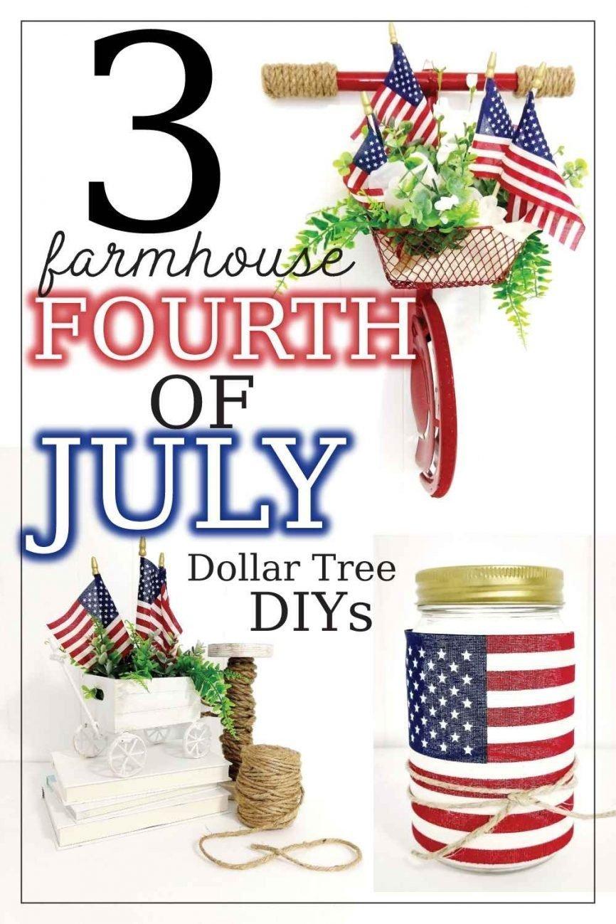 Farmhouse 4th of July DIYs