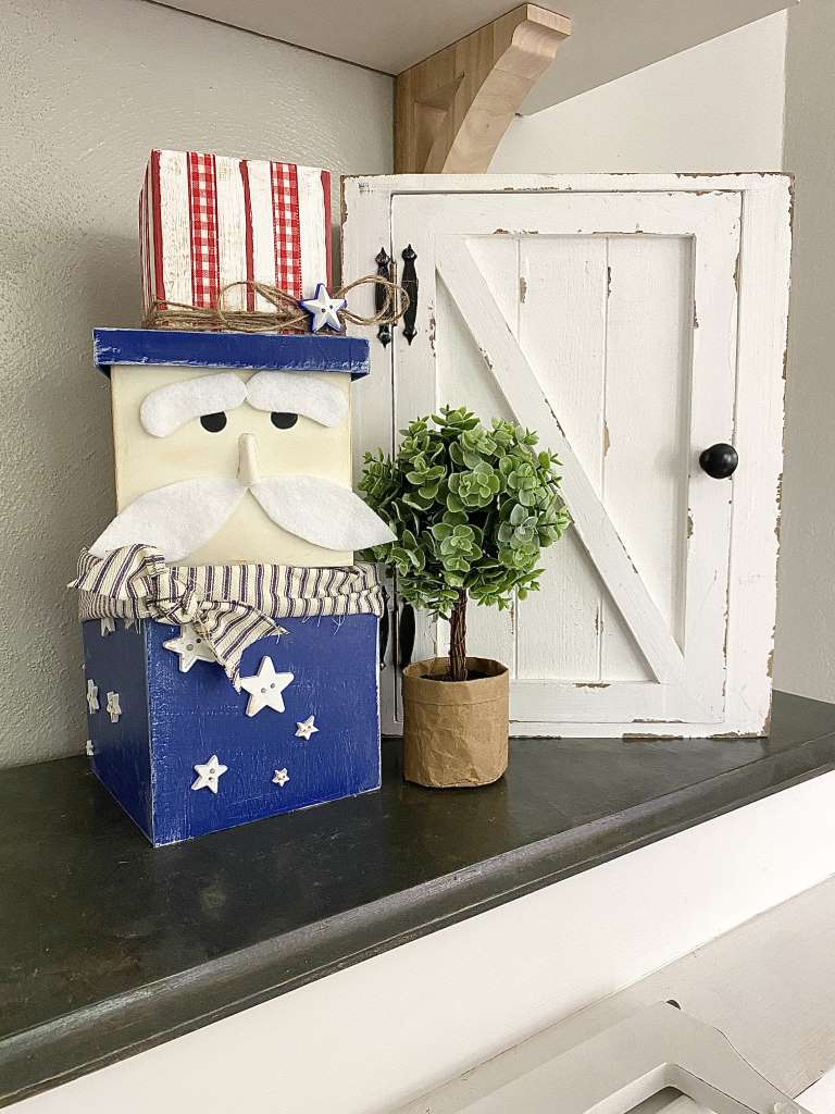 4th Of July Uncle Sam Nesting Boxes DIY Craft