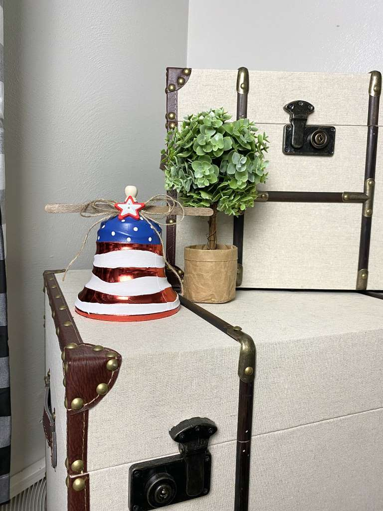 4th Of July Red white and blue liberty bell DIY Craft