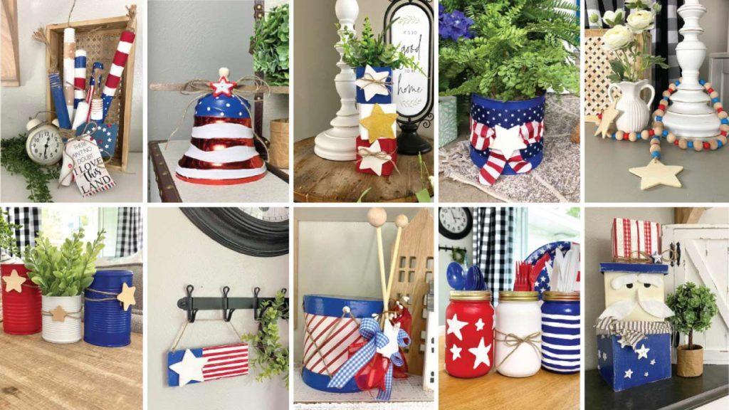 10 4th Of July DIY Crafts