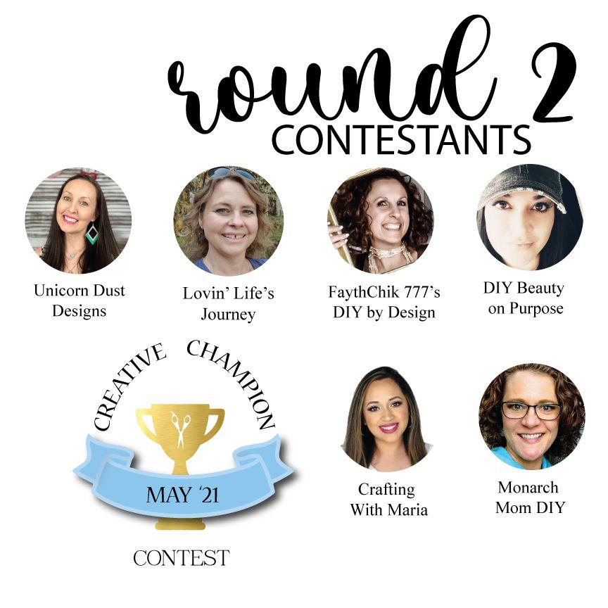 Creative Champion contest round 2 contestants heidi sonboul