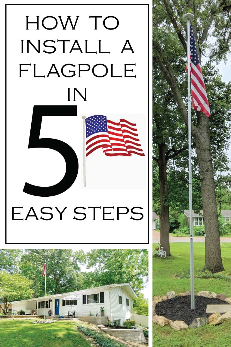 How To Put In An American Flagpole