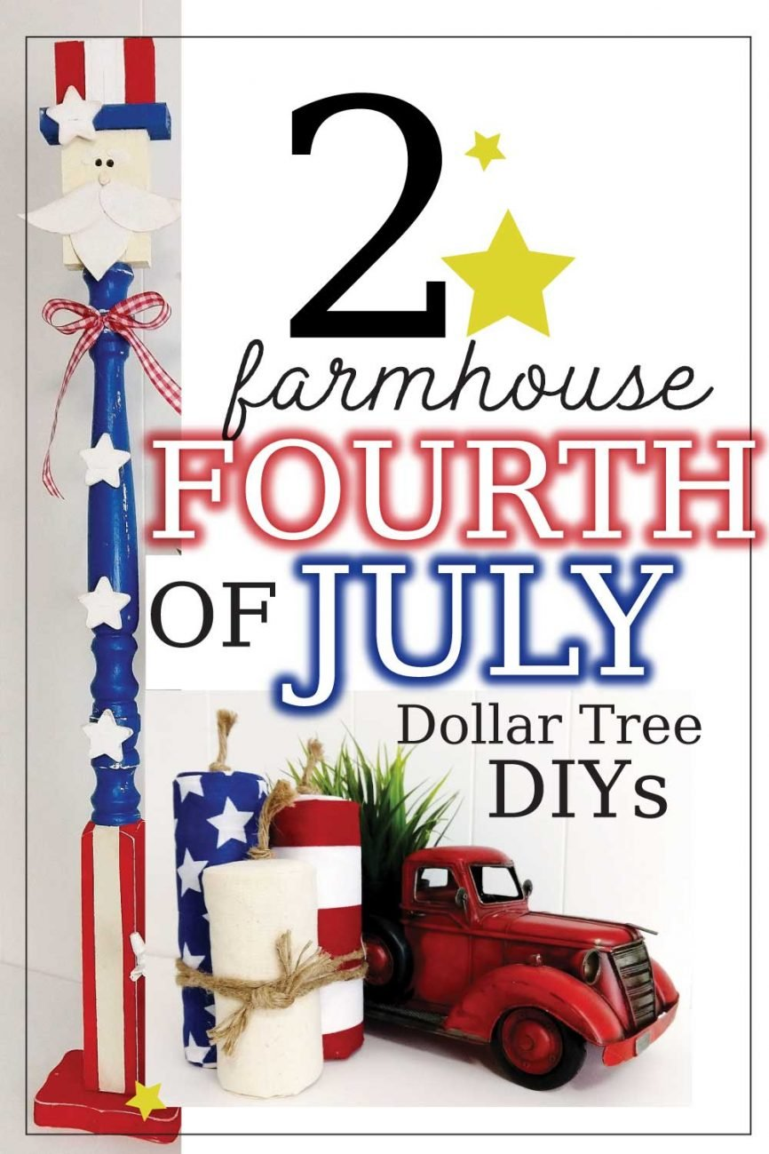 DIY Fabric Fireworks & A BIG Uncle Sam for 4th Of July