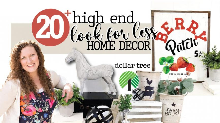 High End Look For Less Home Decor DIY Crafts