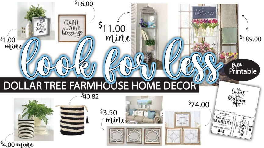 Get The Farmhouse Look On An Amazing Budget