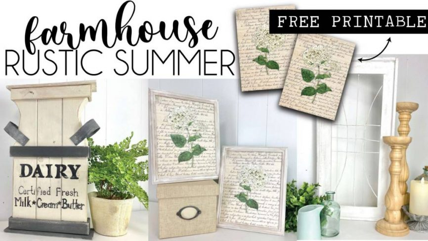 Rustic Farmhouse Crafts For Summer