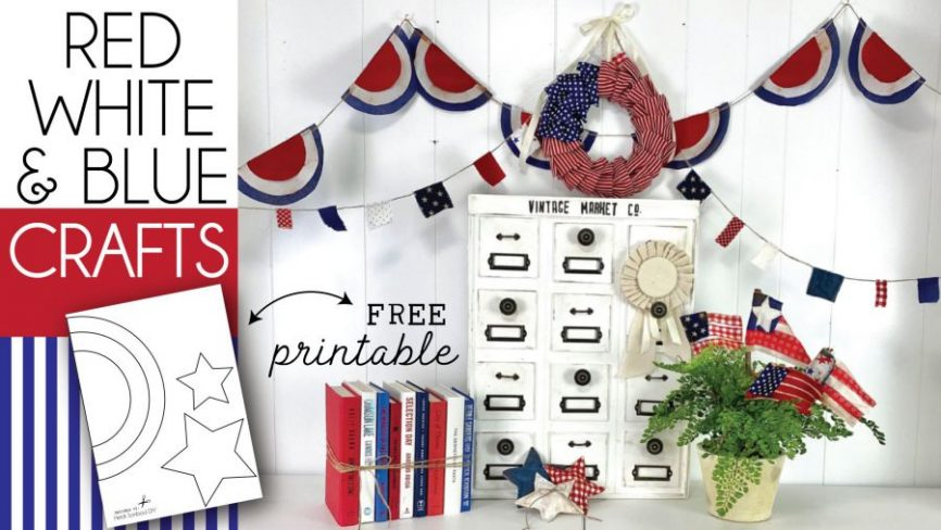 Red White & Blue American Crafts