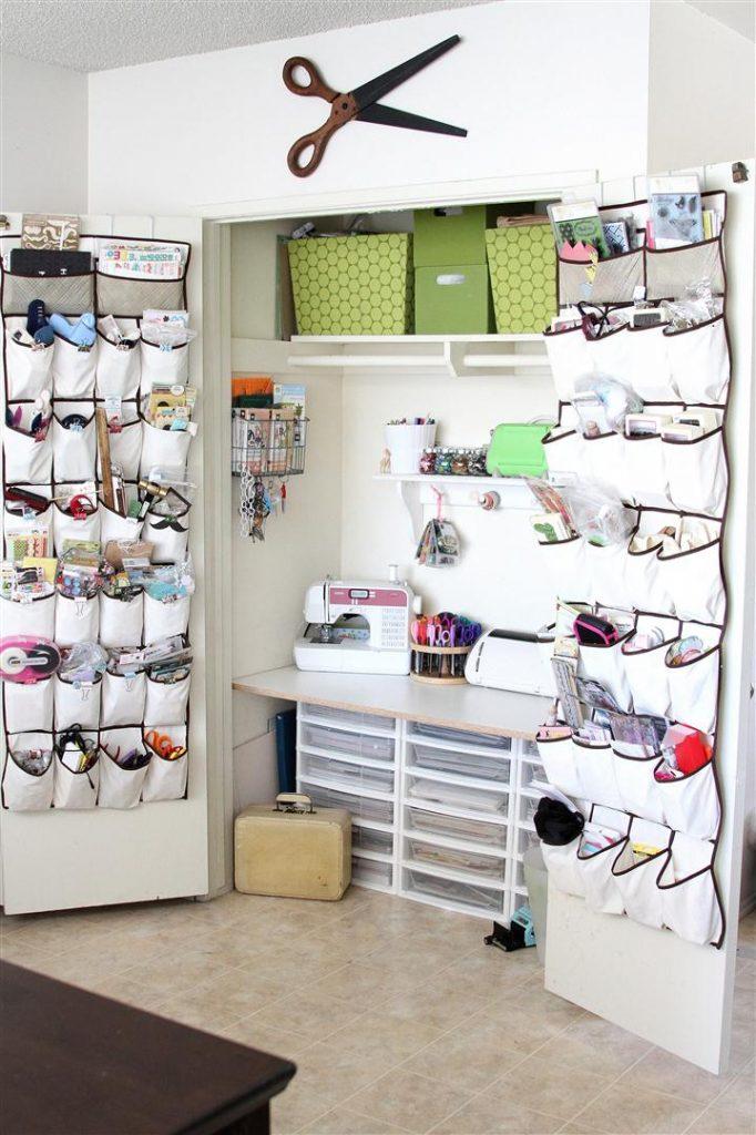heidi sonboul craft closet space