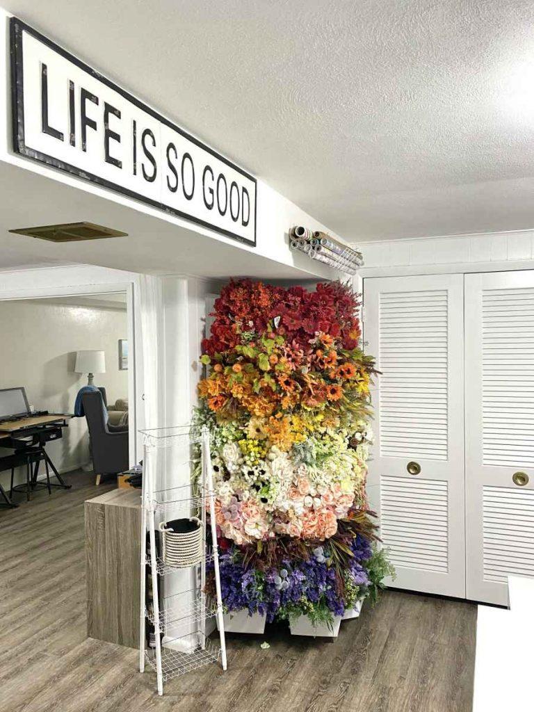 heidi sonboul craft room Wire Rack Flower Tower