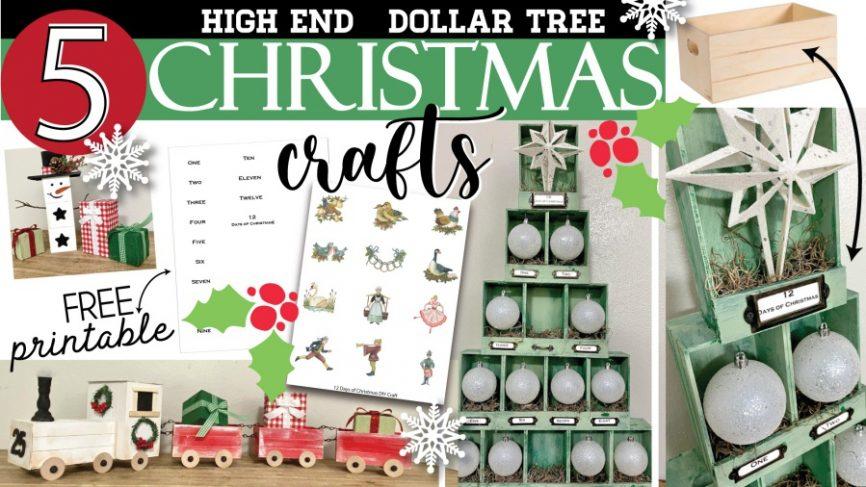 Dollar Tree Apothecary Christmas Tree Ornaments