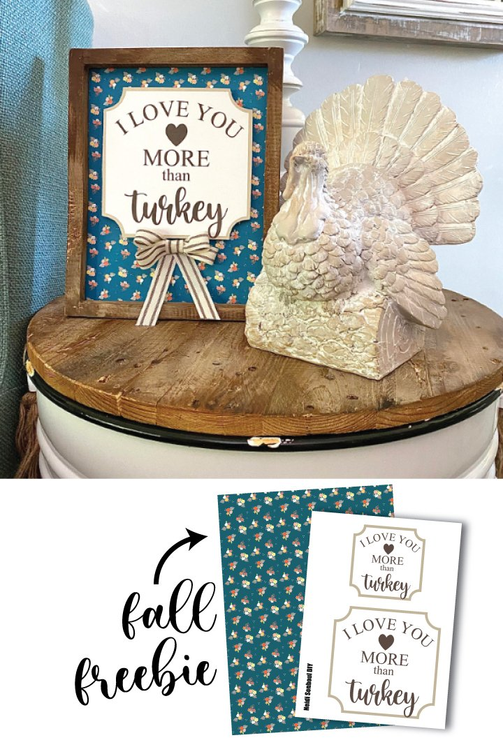 Funny Thanksgiving Home Decor Sign